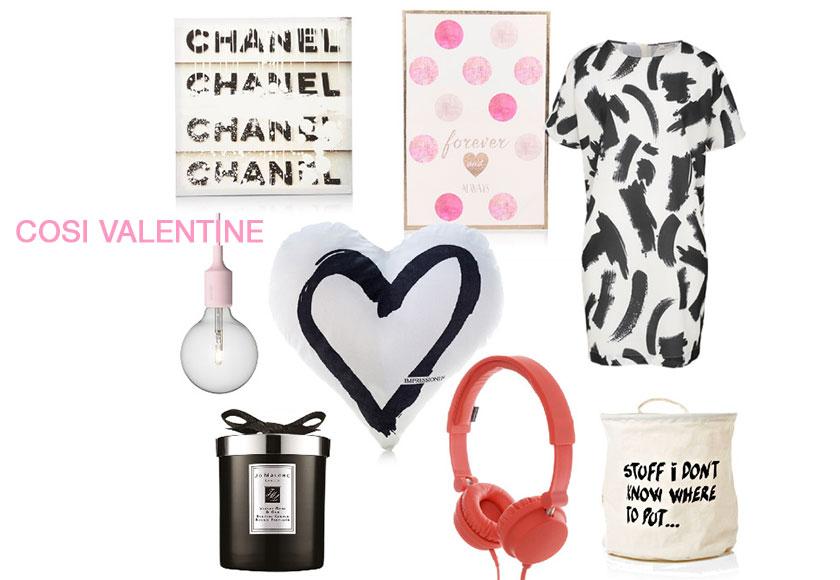 Geschenke zu Valentinstag